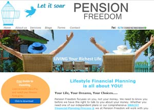 Pension Freedom website