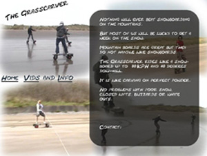 Link to beach boarder website. The Grasscarver